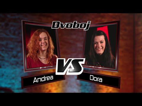 "Dora vs. Andrea : ""Free your mind"" - The Voice of Croatia - Season1 - Battle3"
