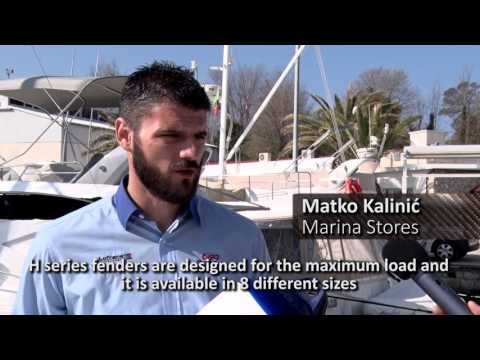 Ocean Heavy duty fenders presentation from Marina stores Croatia