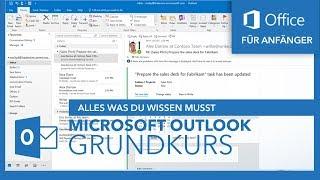 Microsoft Outlook (Grundkurs) Für Anfänger | Microsoft Office Tutorial Serie