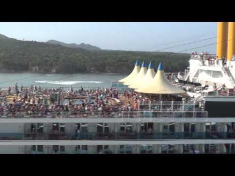 P&O Azura Cruise Ship. Caribbean Cruise 23Jan-6Feb 2016.