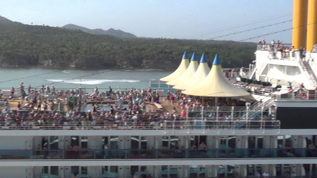 Explore The Beauty Of Caribbean: P&O Azura Cruise Ship. Caribbean Cruise 23Jan-6Feb 2016
