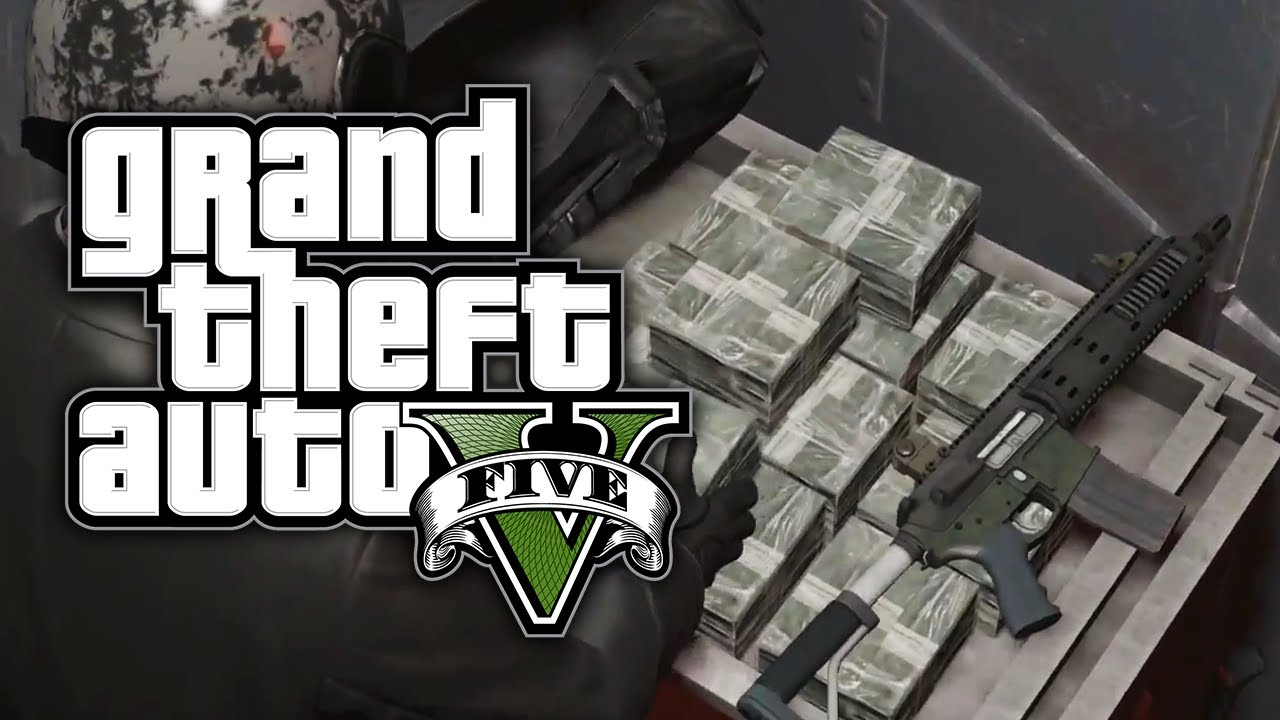 How to Have Infinite Money in Grand Theft Auto 5 (GTA V)