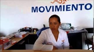 En breve con la candidata Maria Guadalupe Garcia