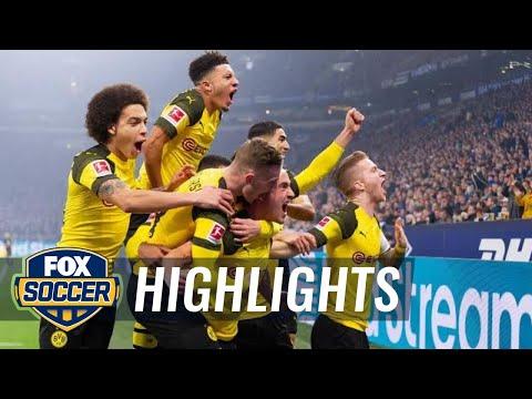 FC Schalke 04 vs. Borussia Dortmund | 2018-19 Bundesliga Highlights