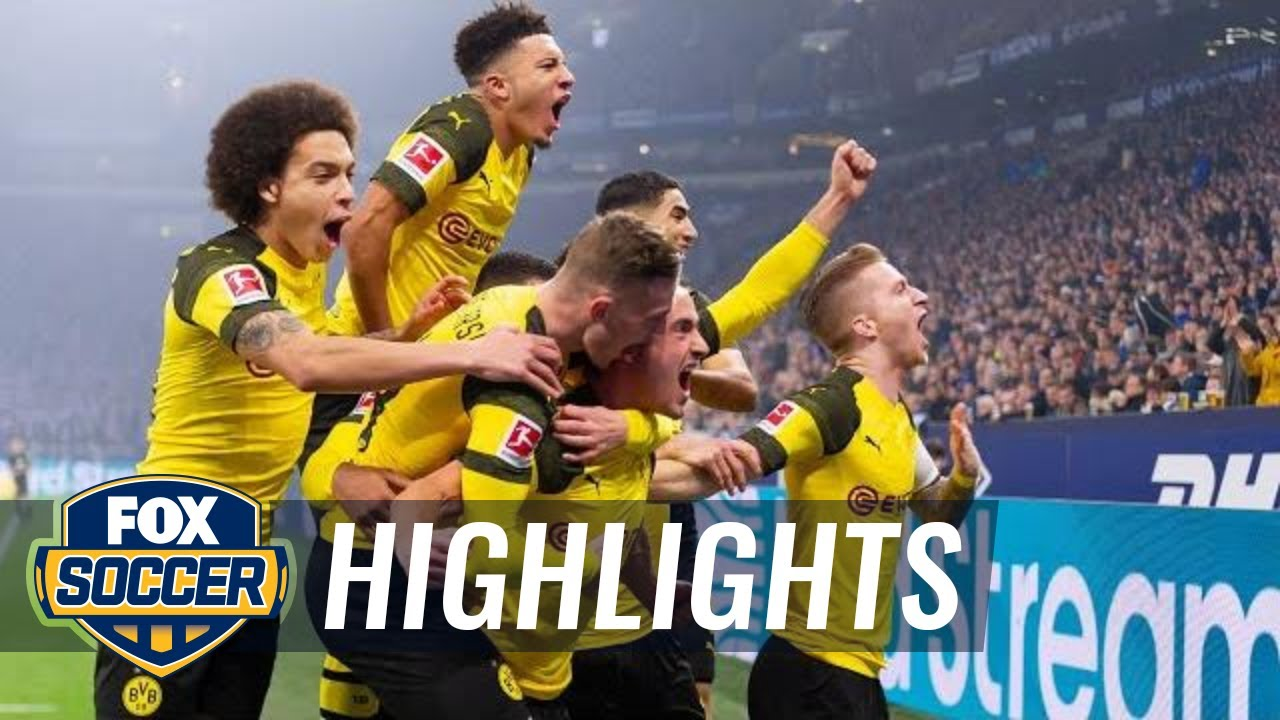Fc Schalke 04 Vs Borussia Dortmund 2018 19 Bundesliga Highlights Youtube