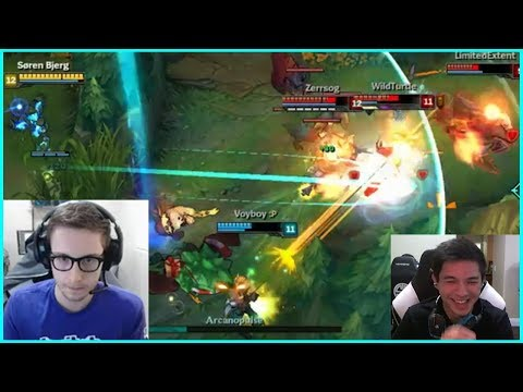 TSM Bjergsen With The Amazing Xerath Footwork | TSM Hauntzer's 20 IQ TP - Best of LoL Streams #143