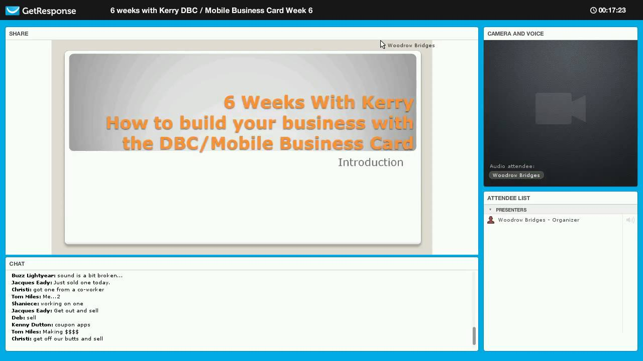 6 Weeks With Kerry How to build your business with the DBC/Mobile ...