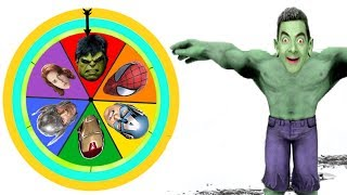 Mr . Bean Mutation By Super Heroes | Hulk, Spider man, Iron man, Thor And Captain america