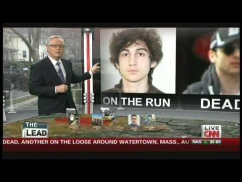 Boston Marathon Bombings News Coverage (April 19, 2013, 4:36 PM)
