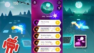 Tiles Hop: EDM Rush! Gameplay HD X-View 🎵🎵