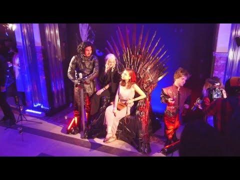 «Игра престолов» в московском подземелье в метро показали первый эпизод седьмого сезона