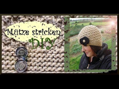 DIY Mütze stricken [auch für Anfänger]