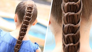 How to Create a Knotted Ponytail | Cute Hairstyles thumbnail