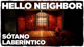 HELLO NEIGHBOR | EXPLORAMOS EL LABERINTO DEL SÓTANO DE LA ALPHA 2! ¡CUANTOS SECRETOS!