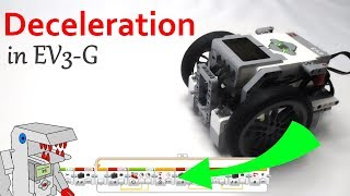 Make a Deceleration Program for EV3 Robots - Improve Robot Stability