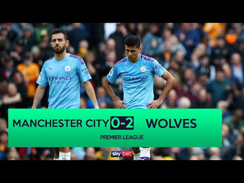 Manchester City 0-2 Wolves | Liverpool Go 8 Points Clear In The Title Race!