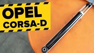 Achteraslager vervangen OPEL CORSA: werkplaatshandboek