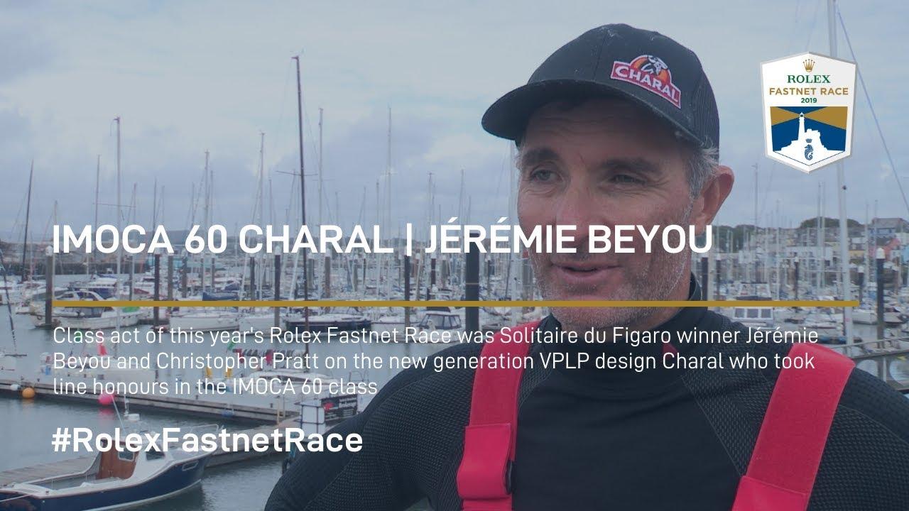 Jeremie Beyou | Charal IMOCA 60 WINNER