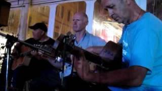 3 guitars in Bonifacio, Corsica