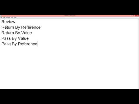 CSE228 Lab4-Prerequisite Call by value and call by reference
