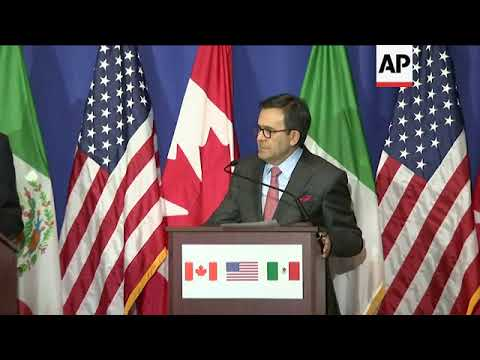 NAFTA Talks to Continue in Mexico Next Month