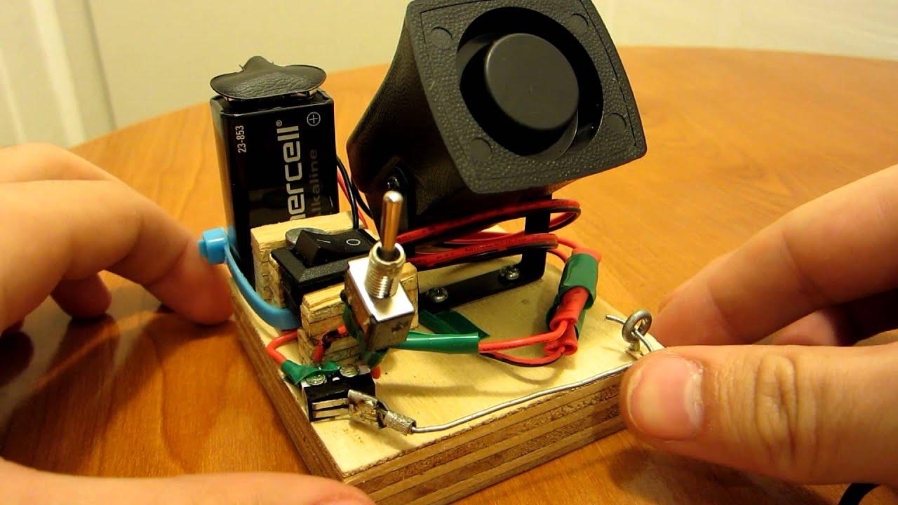 Burglar Alarm Project: Homemade Burglar