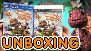Little Big Planet 3 Unboxing!! (PS3 / PS4)