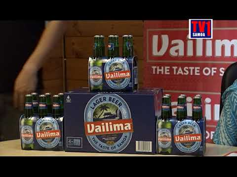 Samoa's #1 Beer Vailima Launched in USA