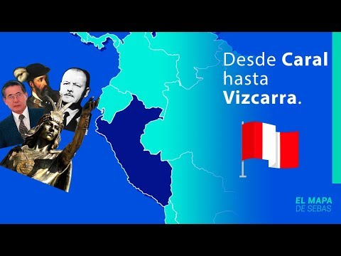 La HISTORIA del PERÚ ️🇵🇪️🇵🇪  en 12 MINUTOS y 18 MAPAS