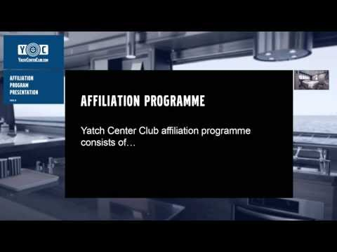 Yacht Center Club - ENG - AFFILIATION PROGRAMME PRESENTATION