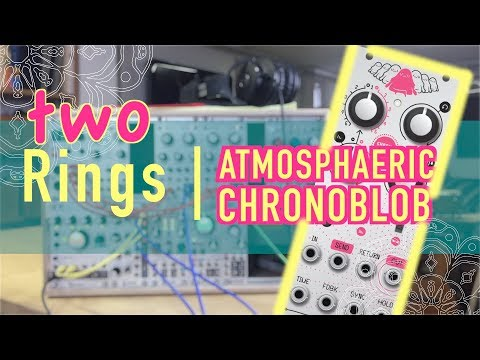 TWO RINGS & CHRONOBLOB - ambient 64-step sequence using YARNS  | Mutable Instruments | EURORACK