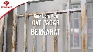 Download Video Cara Mengatasi Cat Pagar Berkarat MP3 3GP MP4