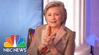Hillary Clinton: Trump Campaign's Statements, Vladimir Putin's Goals 'Quite Coordinated' | NBC News