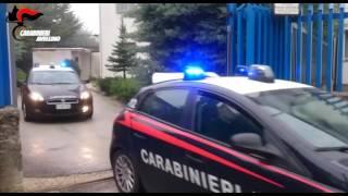 Carabinieri Operazione Attentati Impianti Eolici in Alta Irpinia