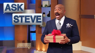 Ask Steve A Red Bottom SURPRISE! STEVE HARVEY