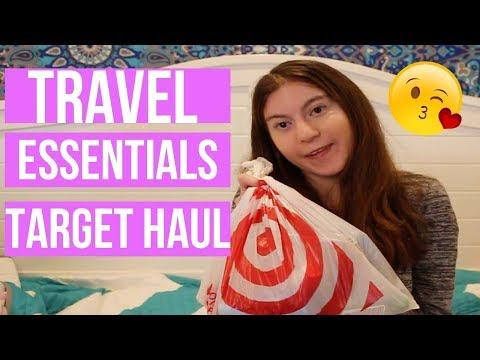 Travel Essentials//Target Haul!!!