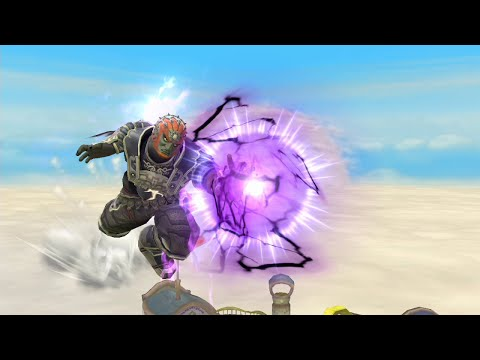 Super Smash Bros Wii U Online For Glory #17 Ganondorf side B off stage