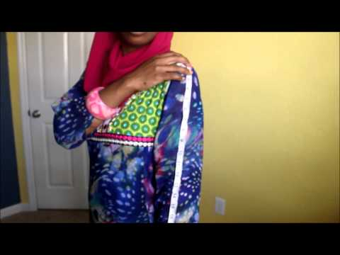 Beginner's Sewing Lessons- Taking Your Own Measure