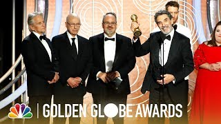 """The Kominsky Method"" Wins Best TV Series, Comedy - 2019 Golden Globes (Highlight)"