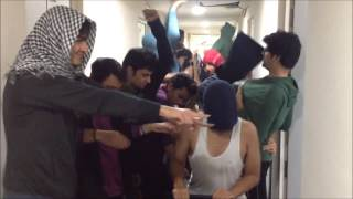 IIIT-Delhi boys celebrate Valentines Day with Harlem Shake.