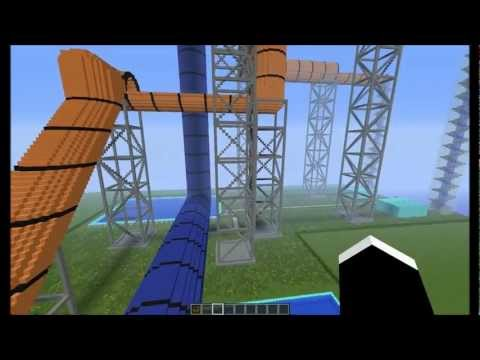 Thumbnail: 2 huge waterslides in a swimming pool + download link
