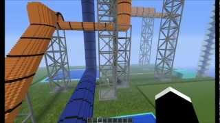2 huge waterslides in a swimming pool + download link