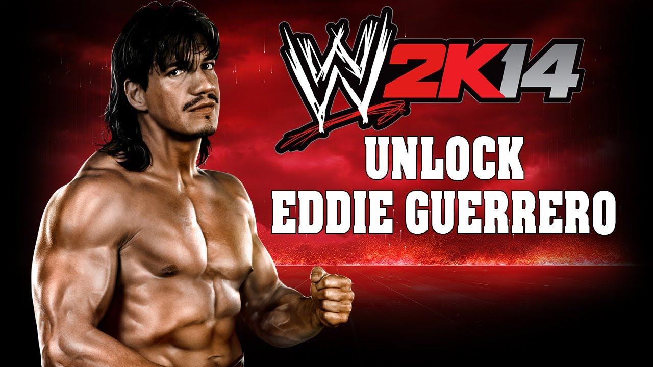 wwe 2k14 - how to easily unlock eddie guerrero - youtube