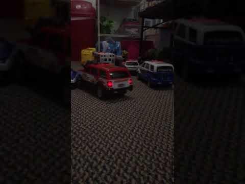 Fire truck Daniel tv