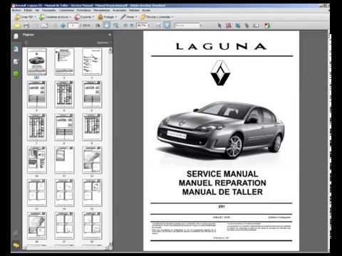 renault laguna iii manual de taller service manual manuel rh youtube com renault laguna service manual pdf renault laguna 2 service manual