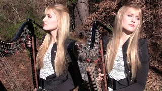 METALLICA - The Unforgiven (Harp Twins) Camille and Kennerly