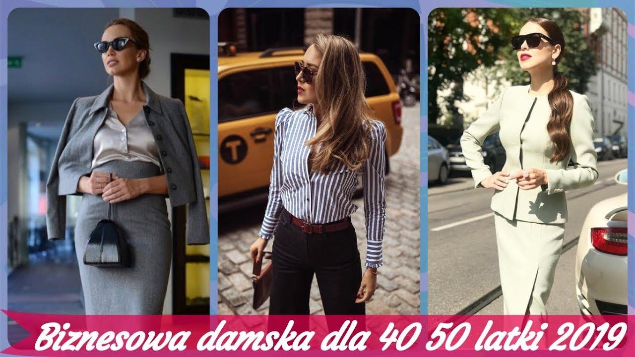 d6e9944913 Top 30 moda 👚 biznesowa damska dla 40 50 latki 2019 - YouTube