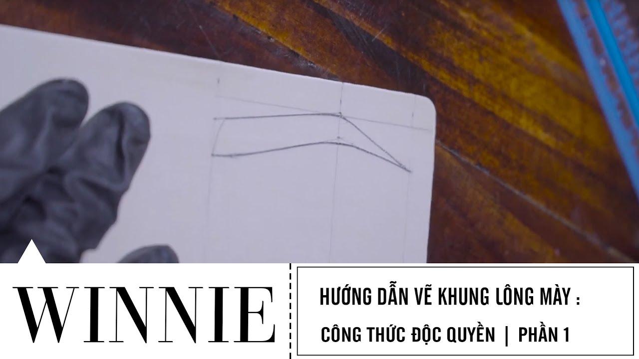 Hướng dẫn phun thêu thẩm mỹ: Vẽ khung lông mày công thức độc quyền | Phần 1