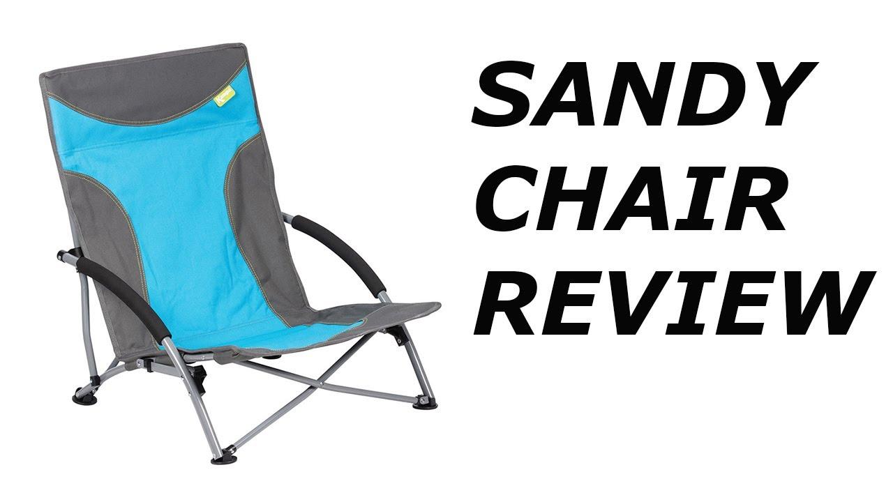 Abbey Camp Strandstoel.Kampa Sandy Beach Chair