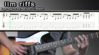 llm riffs freedom rage against the machine